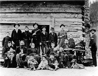 The Hatfields, of the Hatfield-McCoy feud